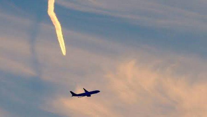 Uçaklar sıcaktan kalkamadı!