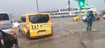 İstanbul'da Tarihi Yağış! 18.07.2017 Sel