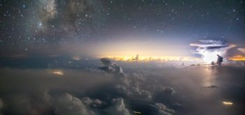 Ekvador Havayolları pilotunun muhteşem fotoğrafları