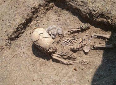 Uzaylı çocuk iskeleti bulundu sosyal medya yıkıldı