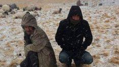 Erzurum'un Yükseklerinde İlk Kar Düştü!
