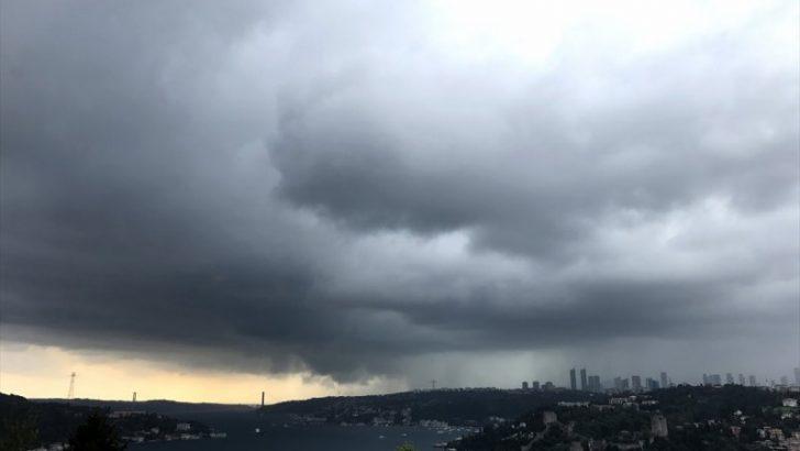 İstanbul'da hafta sonu kuvvetli yağmur var!