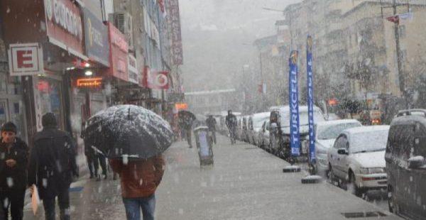 Van ve Hakkari'de kar yağışı