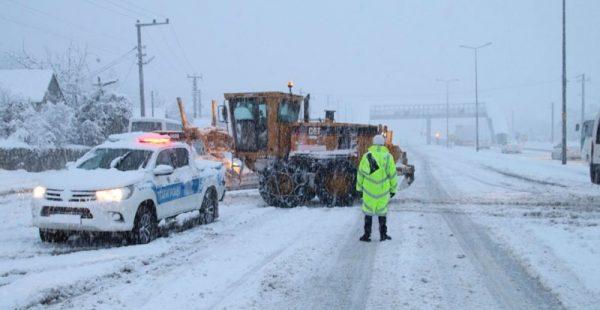 Kuvvetli kar yağışına karşı dikkat!