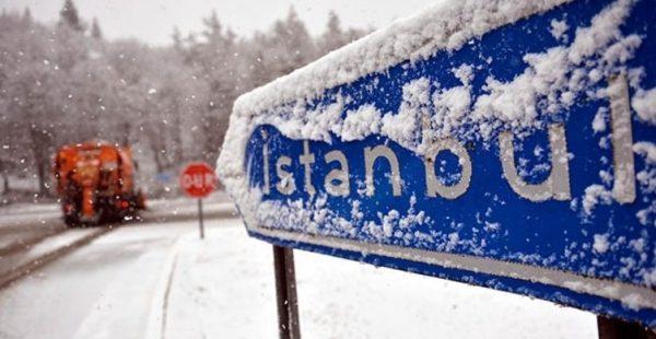 İstanbul'da Kar Yağışı…