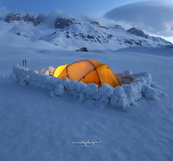 Kış kampı yapmak isteyenlere tavsiyeler