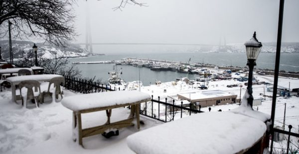 İstanbul'da En Soğuk Gün