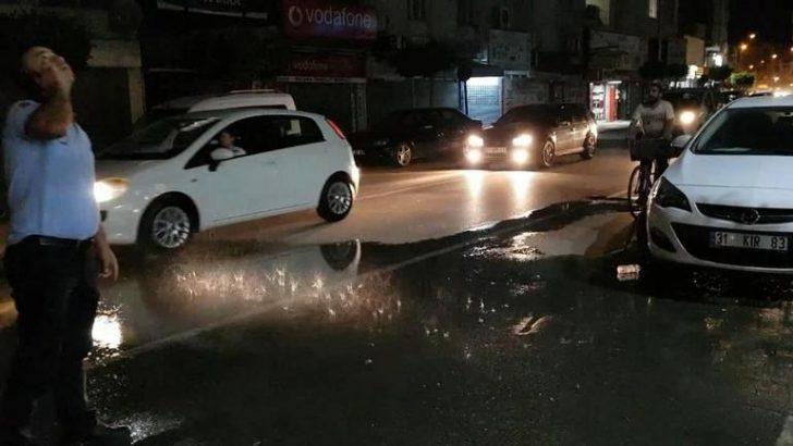 İskenderun'da İlginç Bir Yağmur…