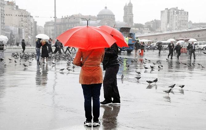 Birkaç günlügüne sagnak yagmur geliyor !