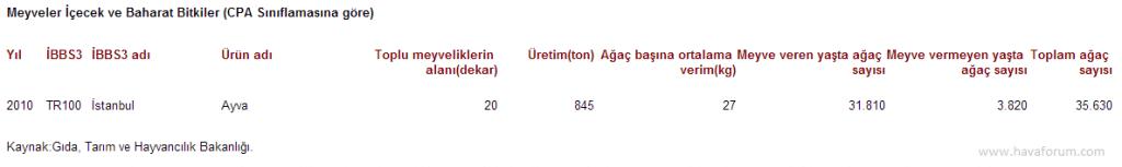 """2010-1024x153 """"Ayva bolsa kış sert geçer"""" istatistikleri Haberler"""