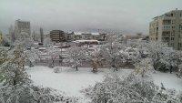 Balkanlara kar geldi !