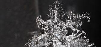 Kar tanesinin doğuşu…