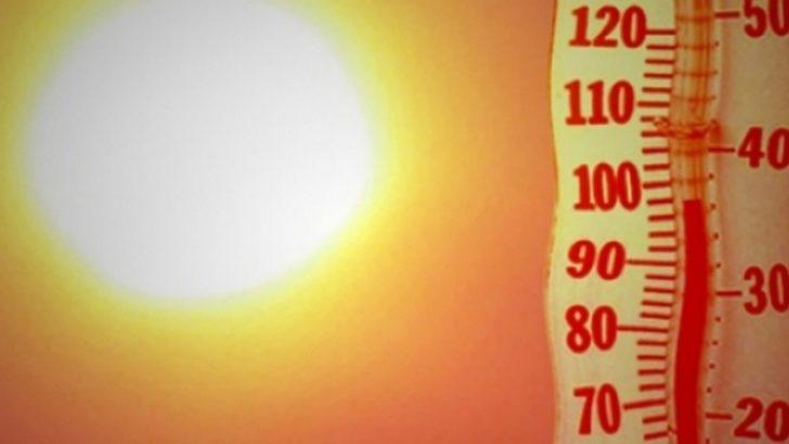 Hafta başı hava çok sıcak, sonrasında biraz düşüş…