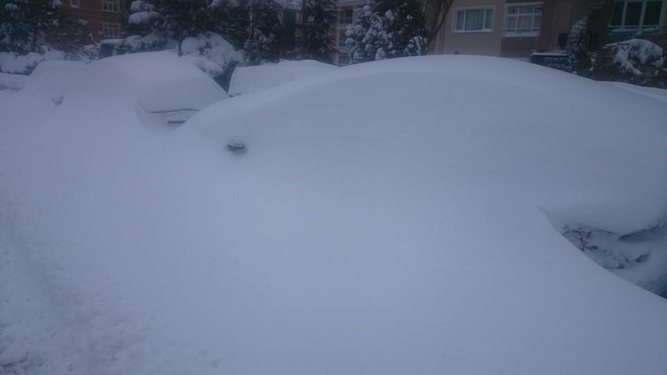 Beylikduzu kar subat 2015