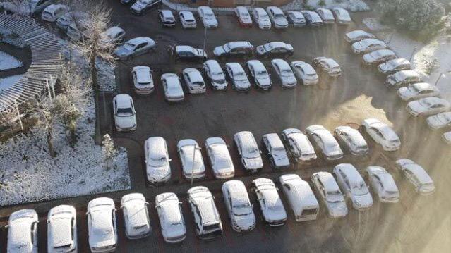 ankara1 Ankara'da Nisanda Kar Yağışı... Haberler
