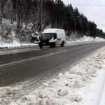 Bolu'da Nisan'da Kar Yağışı Etkili Oldu !