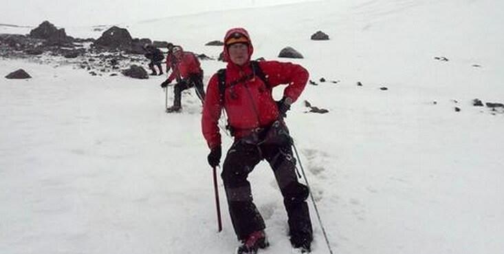 15 yıl sonra Erciyes'e Haziran ayında kar!