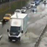 İstanbul Kartal'da Yağmur Etkili Oldu…