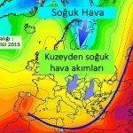 Kuzeybatıya İlk Serin Hava Dalgası….
