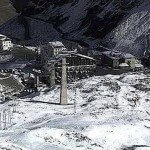 İtalya'da Kayak Merkezi Kar Aldı…