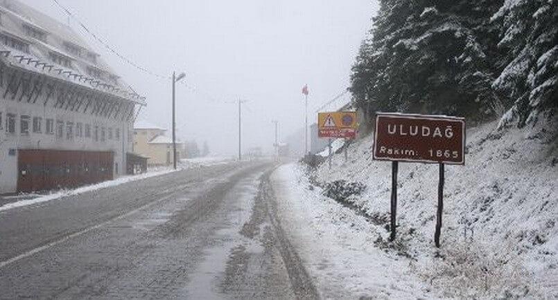 uludag-kar-yagisi Uludağ Bu Hafta Karla Tanışabilir ! Haberler