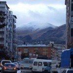 Erzurum/Palandöken'e Kar Yağdı, Merkezde Yağmur ve KKY Bekleniyor