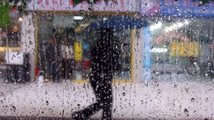 Yağmurla Birlikte Sıcaklıklar Düşüyor…