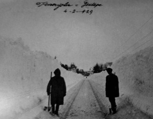 1929 Kışı Unutulmazlardan Biri