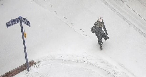 ankara-kar2 Doğu'da Yoğun Kar Yağışı Uyarısı! Haberler