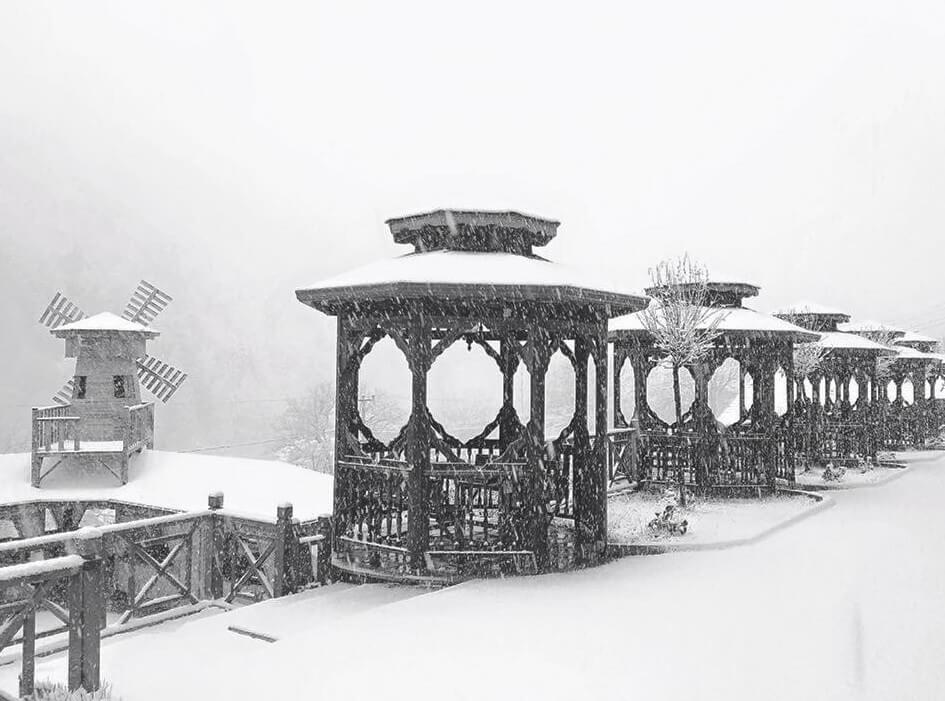 bolu-kar-yagisi2 Bolu'da Beklenen Kar Başladı... Haberler