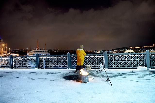 İstanbul'un karla imtihanı