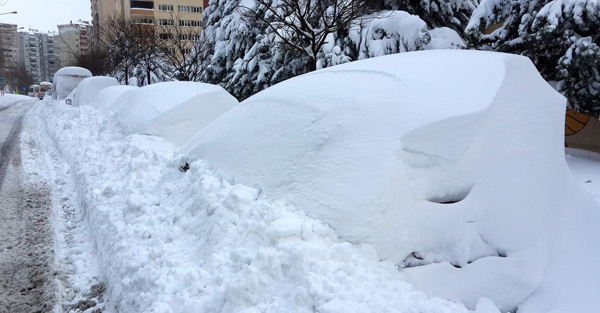 kar.20150219111303 UYARI: İstanbul'da Yoğun Kar Yağışı! Genel Haberler