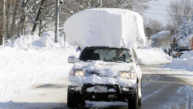 ABD'de kar fırtınasından geriye kalanlar