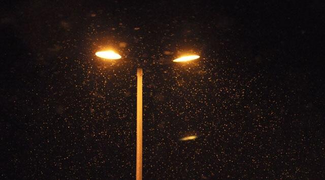 Uludağ'da Mevsimin İlk Kar Yağışı…