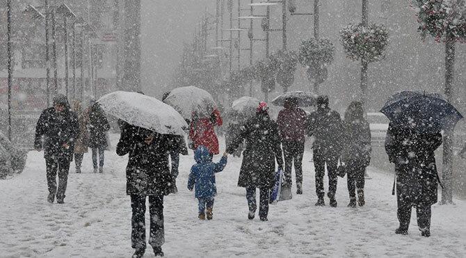 kar-ne-zaman-yagacak-1 Balkanlar Üzerinden Soğuk ve Kar Geliyor! Haberler