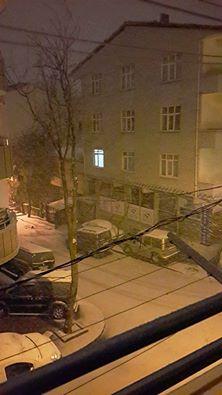 İstanbul'da Kar Yağışı - Çekmeköy