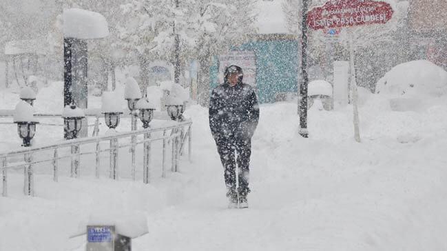 Gelecek hafta sonu çetin kış koşulları geliyor…