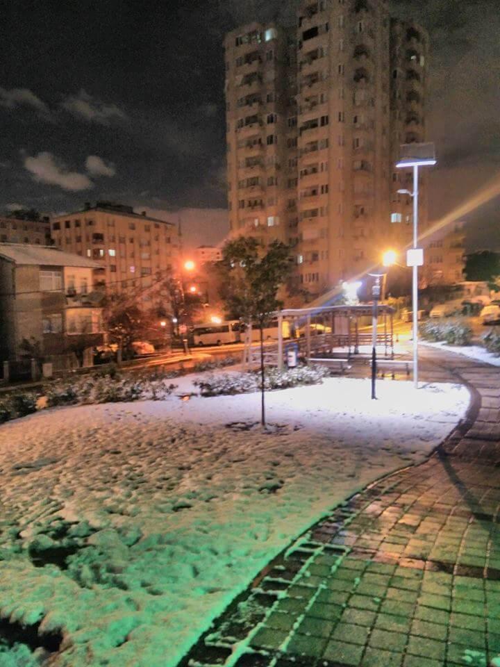 İstanbul'da Kar Yağışı - Maltepe