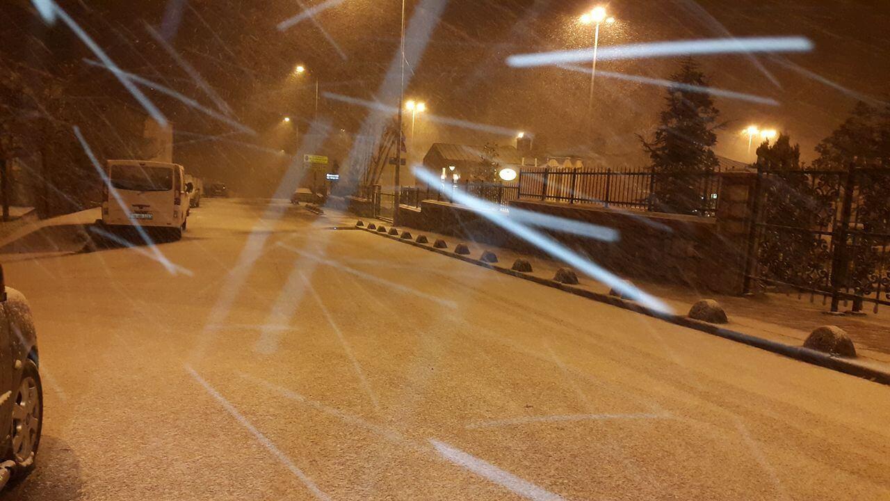 İstanbul'da Kar Yağışı - Sancaktepe