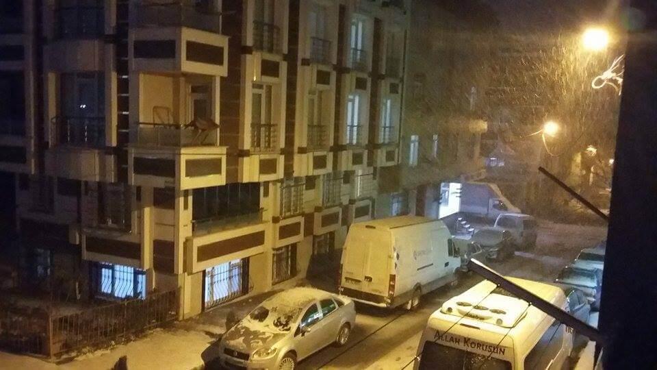 İstanbul'da Kar Yağışı - Sultangazi
