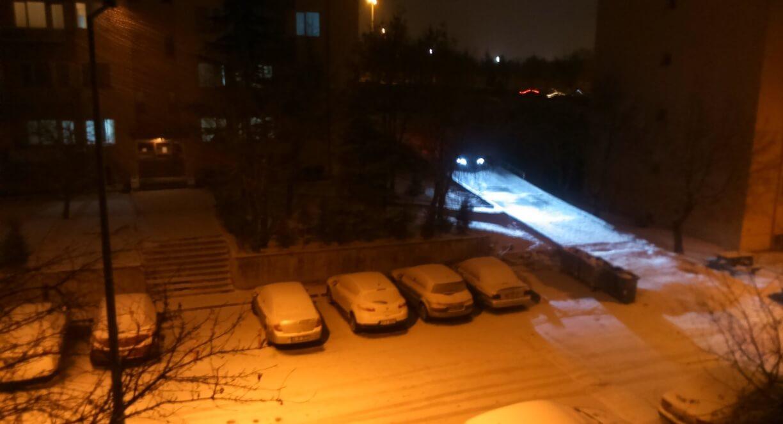 Ankara'da Okullara Kar Tatili!