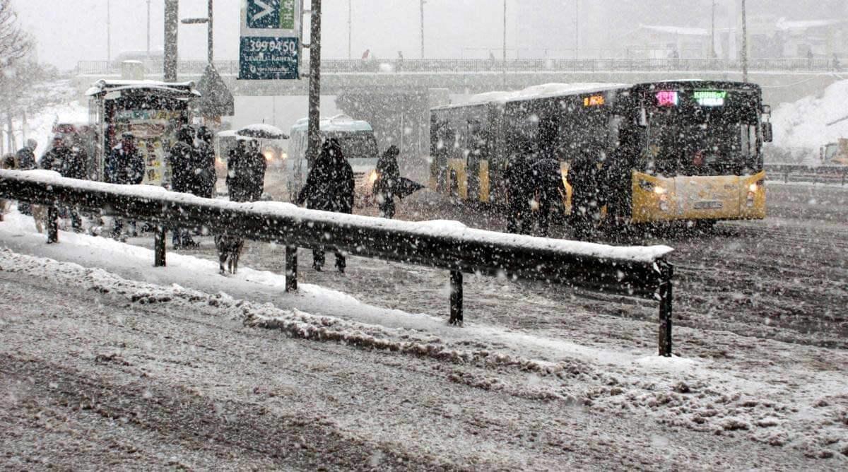 istanbul-kar-ne-zaman-yagacak Balkanlar Üzerinden Soğuk ve Kar Geliyor! Haberler