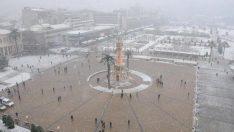 UYARI: İzmir, Aydın, Manisa'da Yoğun Kar!