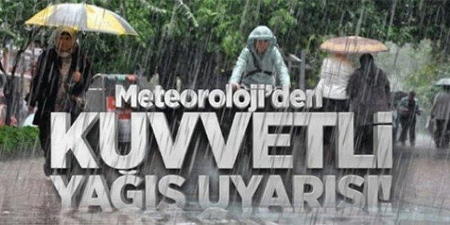 Muğla, Aydın, İzmir ve Antalya'da Şiddetli Yağış !