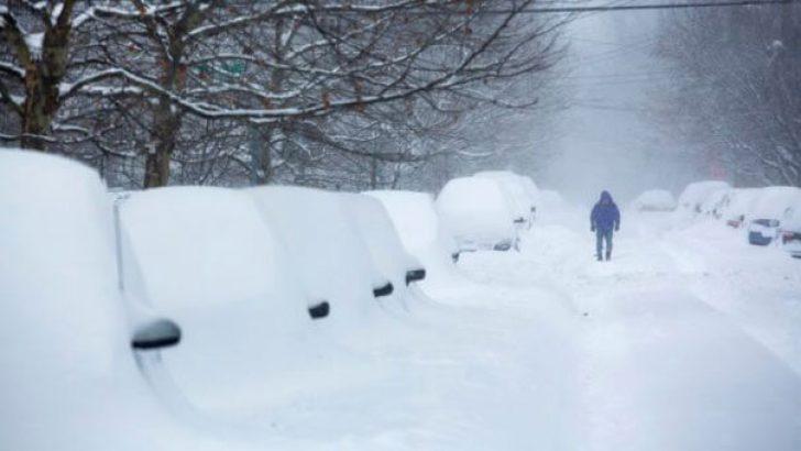 ABD'de kar nedeniyle olağanüstü hal ilan edildi !