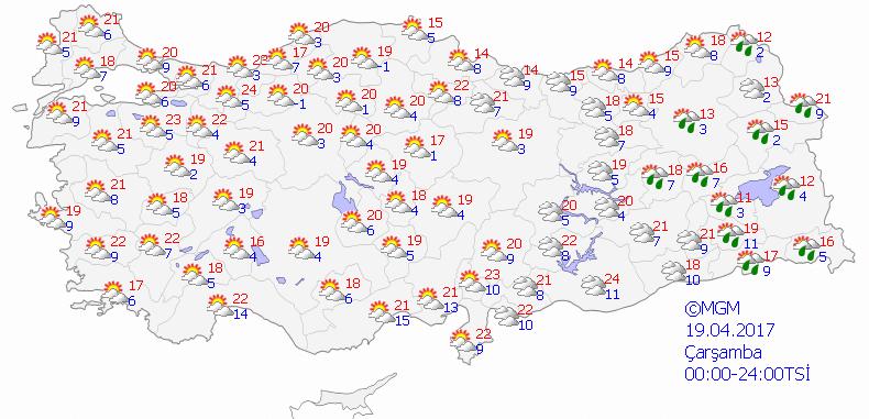 haritatahmingun3 Yeni Haftada Yağmur Var... Haberler