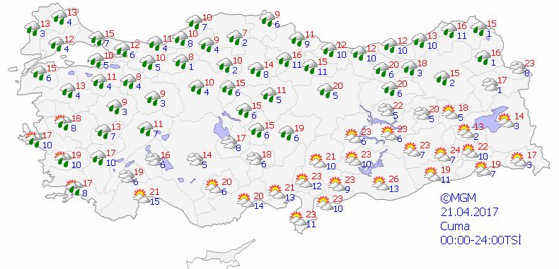 haritatahmingun5 Yeni Haftada Yağmur Var... Haberler