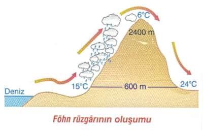 fon-fohn-ruzgarlari Fön (Fohn) Rüzgarları Nedir? Sözlük