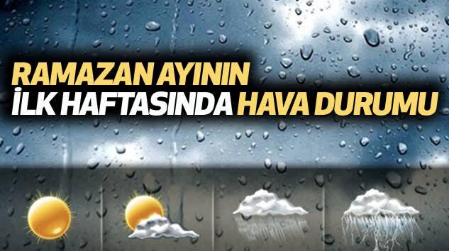 ramazanda-hava-durumu-1 Ramazanın İlk Günü Hava Nasıl? Haberler