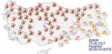 haritatahminkucukgun1 Sıcak Hava Geliyor... Haberler